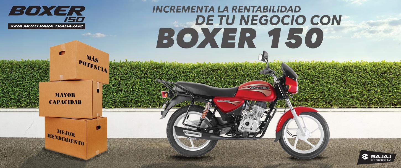 MOTO BOXER BAJAJ 150