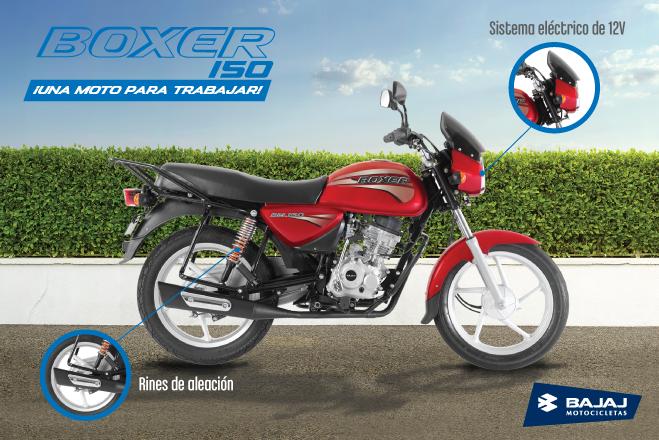 MOTO BOXER 150 BAJAJ