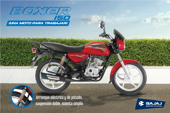 MOTO BAJAJ BOXER 150