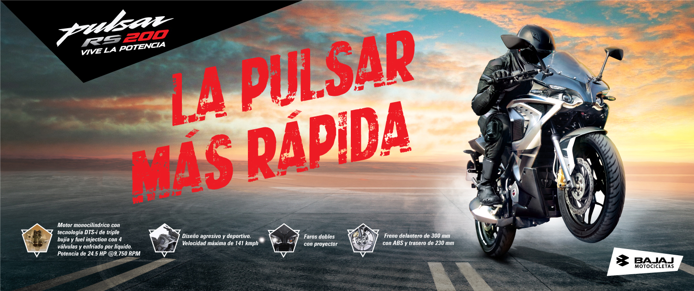 Nueva moto NS 200 Pulsar Bajaj
