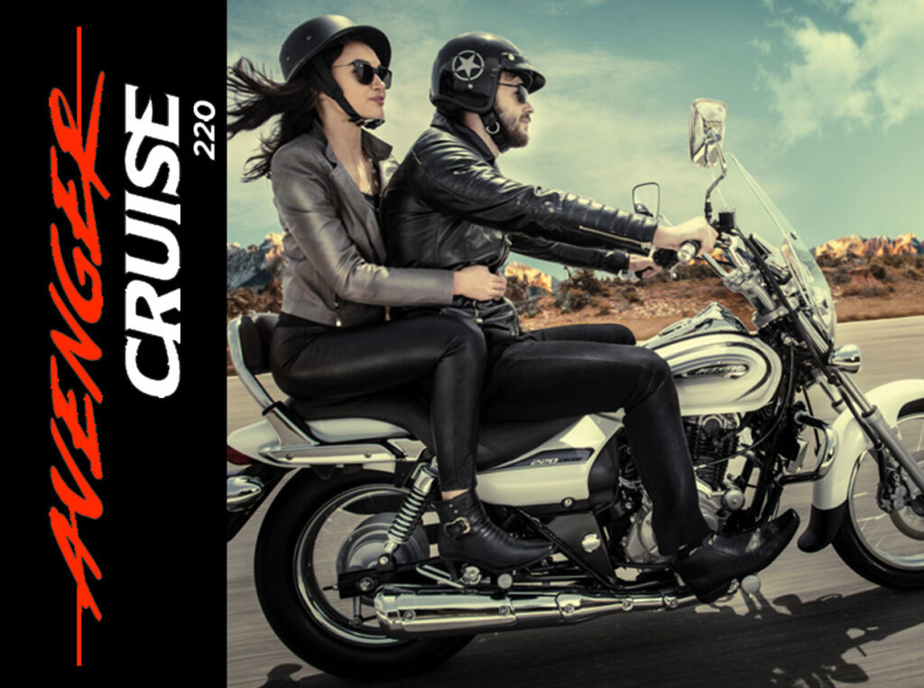 Moto Avenger Cruise 220 Bajaj Mexico