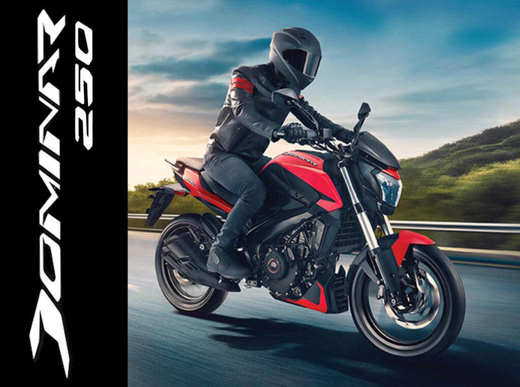 Moto Dominar 250 Bajaj Mexico